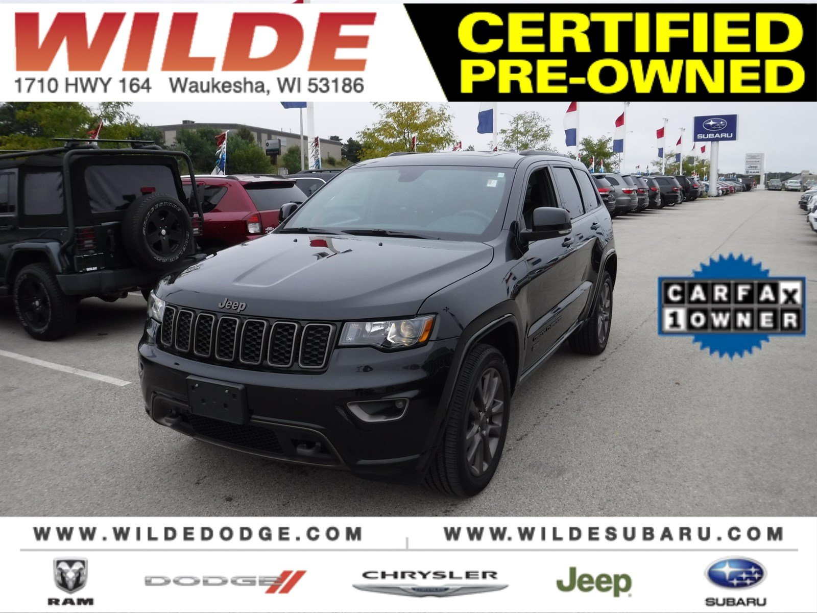 Pre Owned 2016 Jeep Grand Cherokee Limited 75th Anniversary