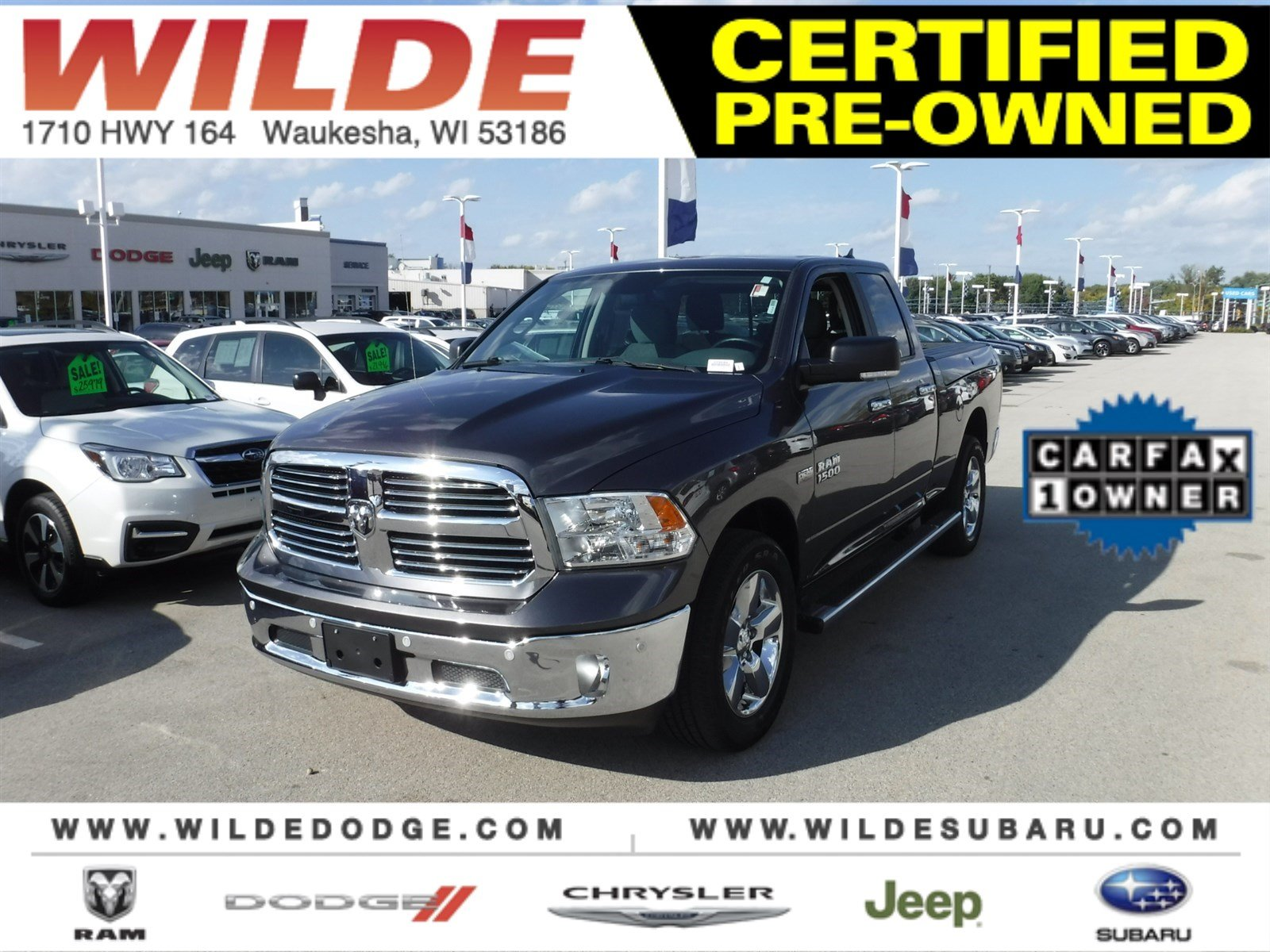 Pre Owned 2016 Ram 1500 Big Horn Truck In Waukesha 22968a Wilde 2012 Dodge Airbag Light