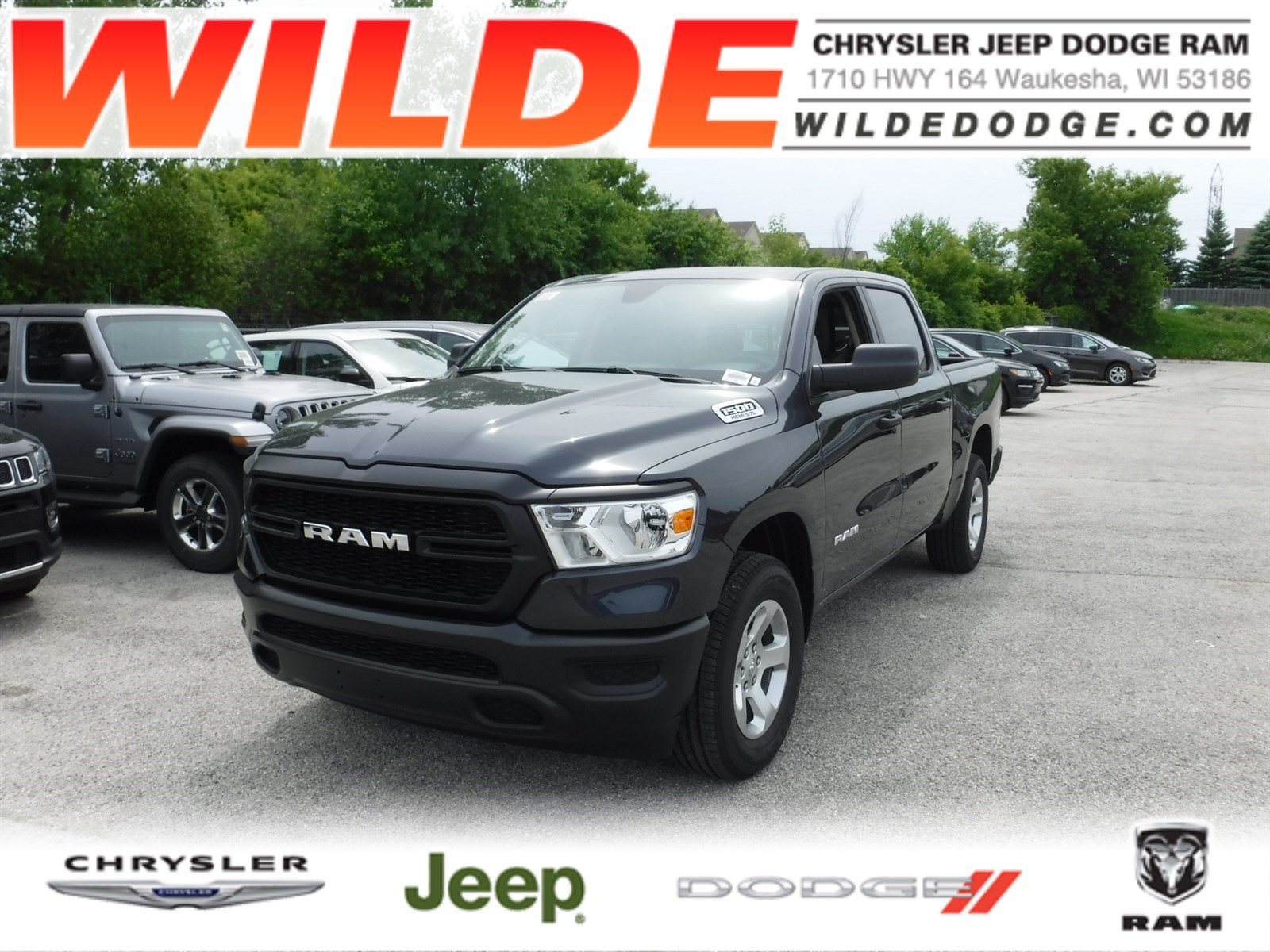 All New Dodge Ram Truck 2019 >> New 2019 Ram 1500 Tradesman Crew Cab 4x4 5 7 Box