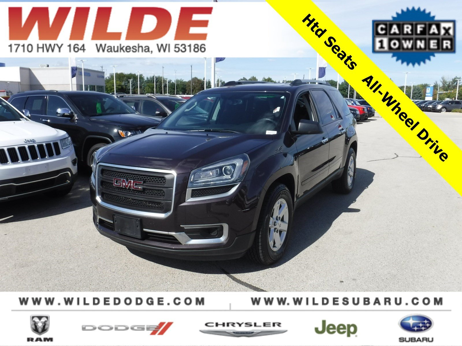Pre-Owned 2016 GMC Acadia SLE