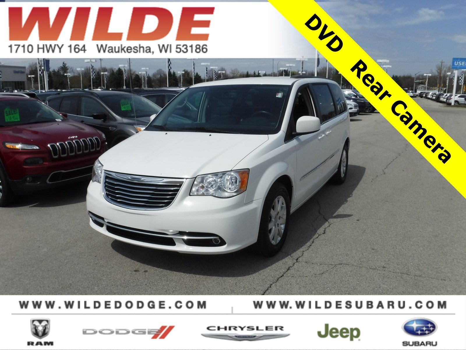 2012 chrysler town and country uconnect