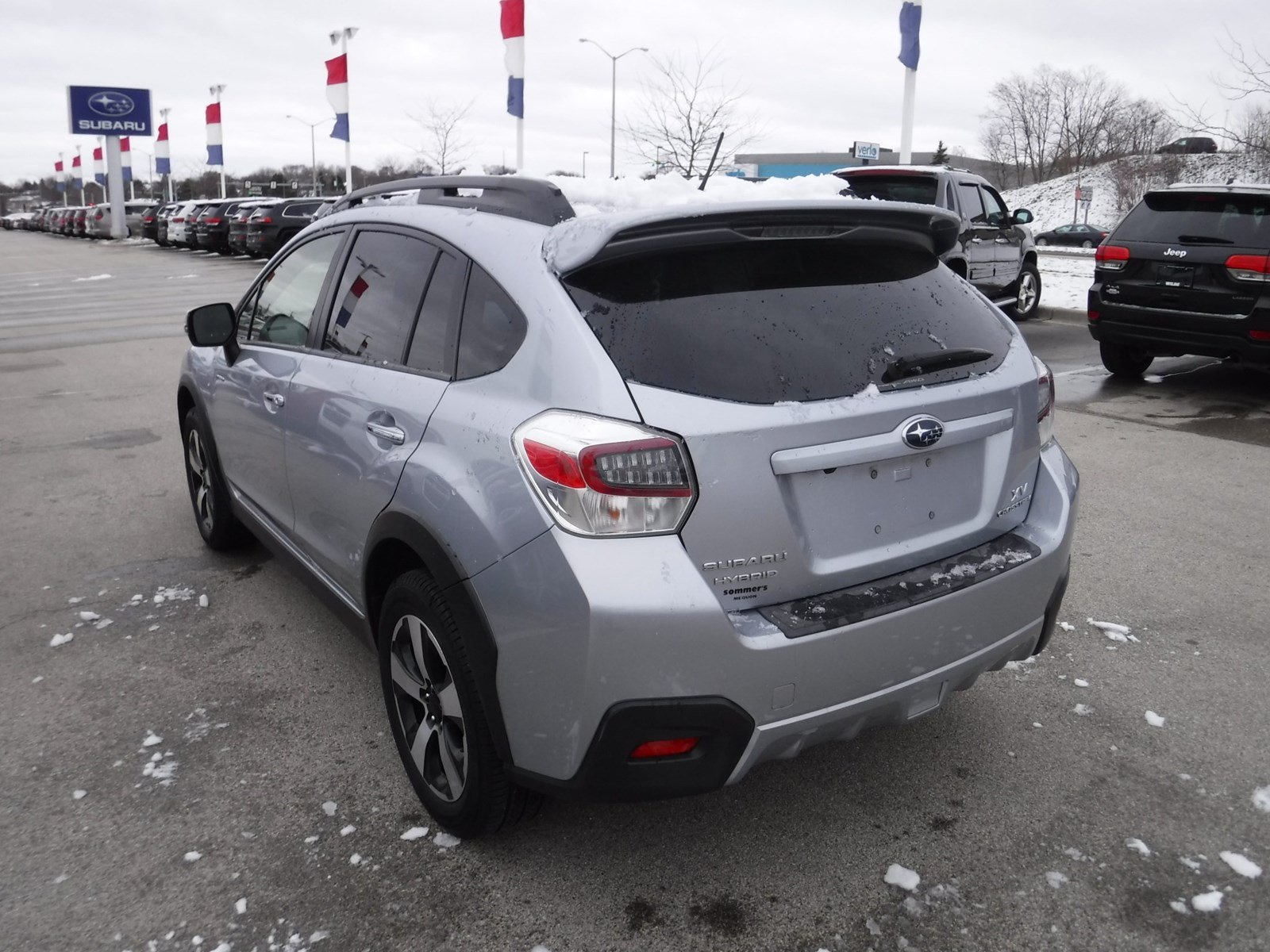 Pre Owned 2017 Subaru Xv Crosstrek Hybrid Touring