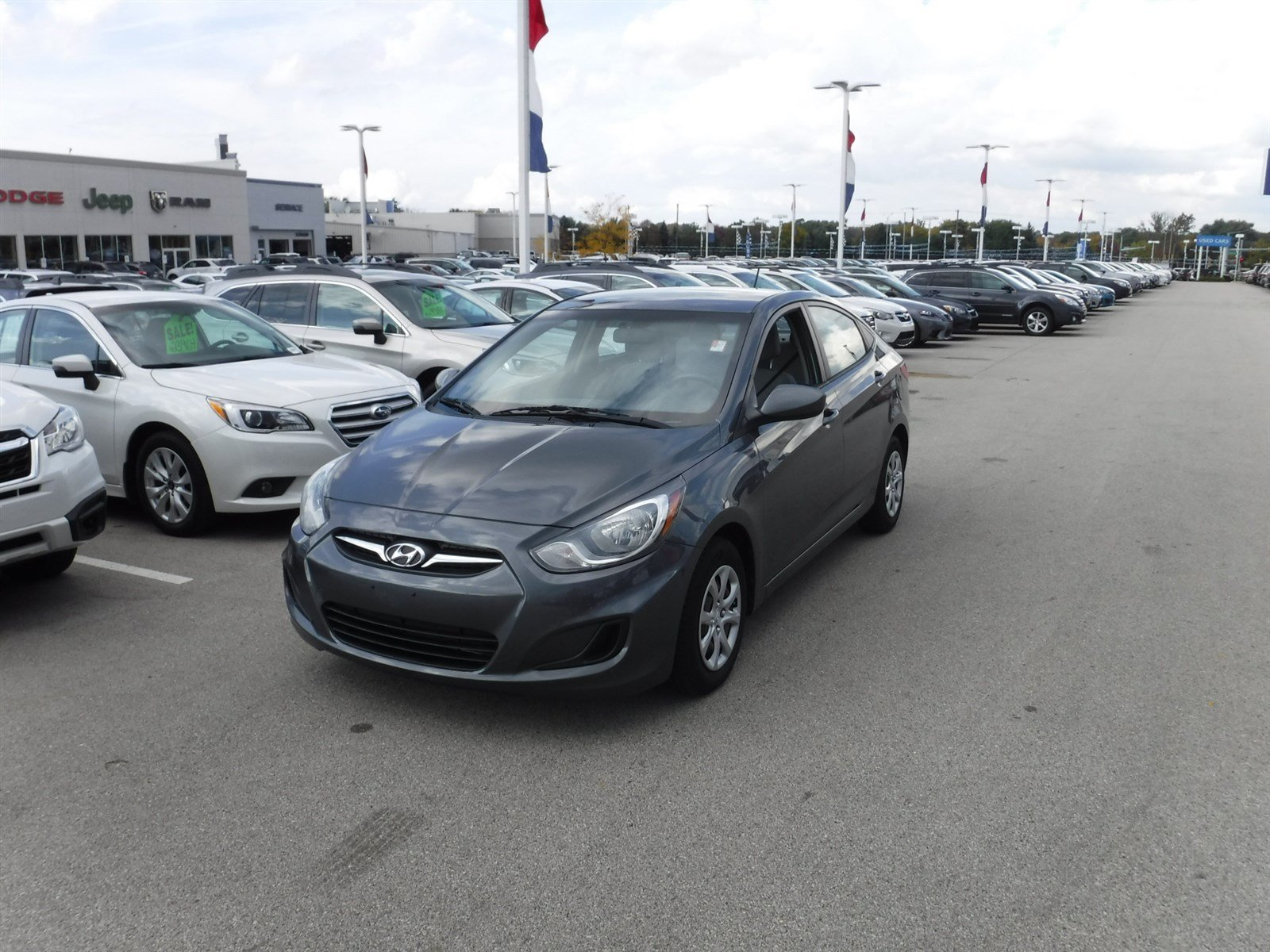 Pre Owned 2012 Hyundai Accent Gls Sedan In Waukesha 23648a Wilde Elantra Fuel Filter