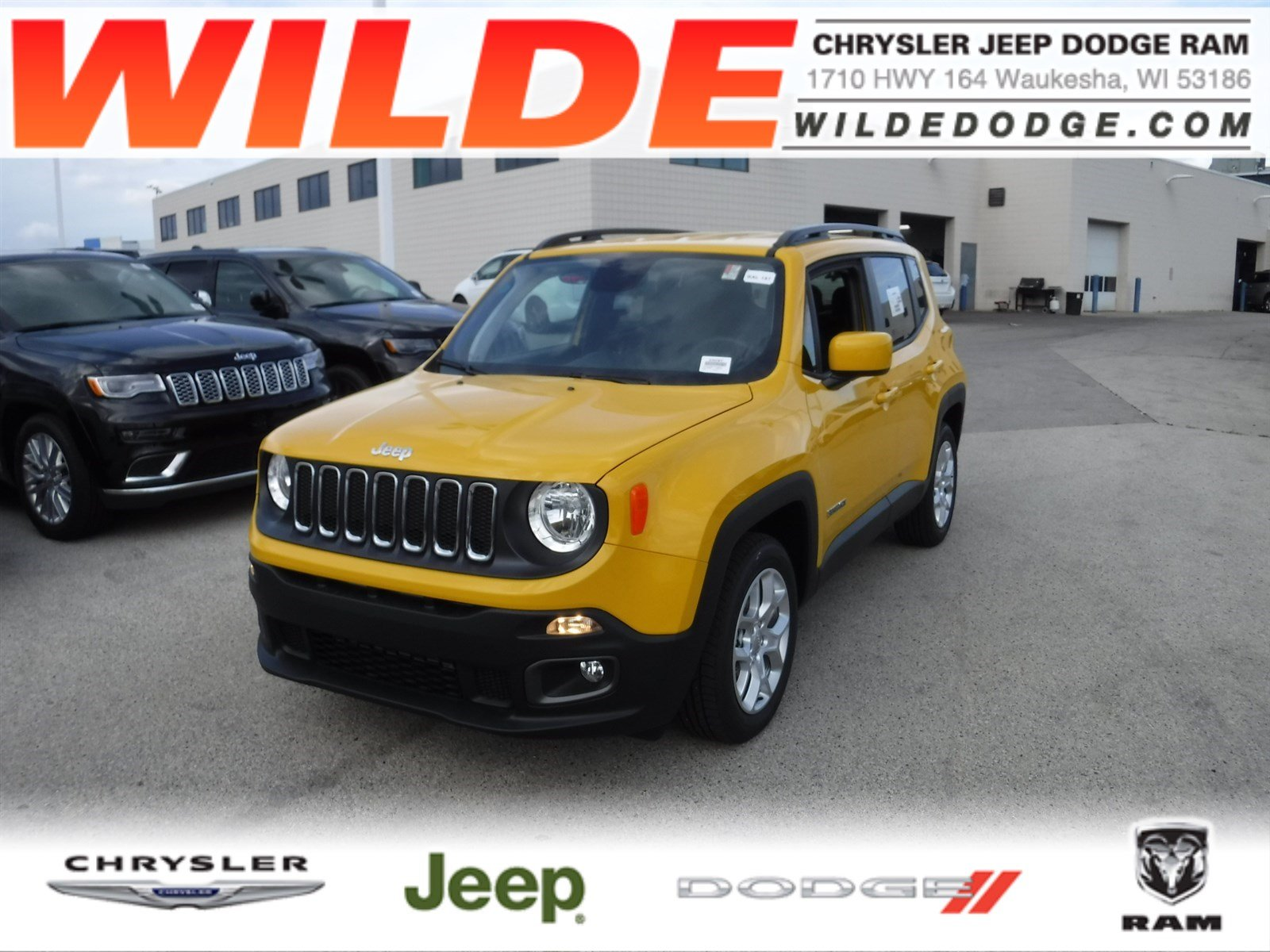 new 2018 jeep renegade latitude sport utility in waukesha. Black Bedroom Furniture Sets. Home Design Ideas