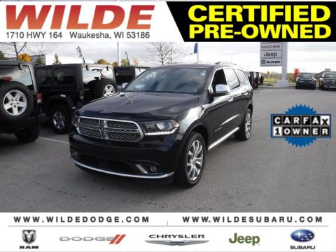 Certified Pre-Owned 2016 Dodge Durango Citadel Anodized Platinum