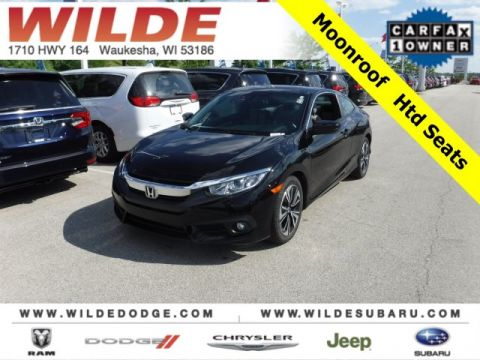 Pre-Owned 2016 Honda Civic Coupe EX-T